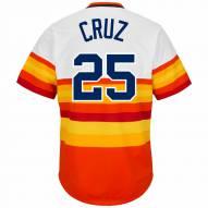 Houston Astros Jose Cruz Sr. Cooperstown Rainbow Replica Baseball Jersey