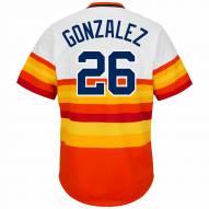 Houston Astros Luis Gonzalez Cooperstown Rainbow Replica Baseball Jersey
