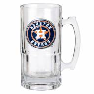Houston Astros MLB 1 Liter Glass Macho Mug