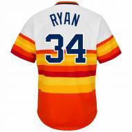 Houston Astros Nolan Ryan Cooperstown Rainbow Replica Baseball Jersey