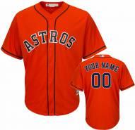 Houston Astros Personalized Replica Orange Alternate Baseball Jersey