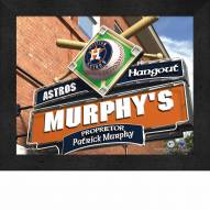Houston Astros Personalized Framed Sports Pub Print