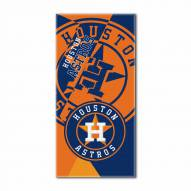 Houston Astros Puzzle Beach Towel