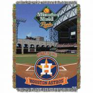 Houston Astros Stadium Throw Blanket