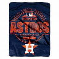 Houston Astros Structure Throw Blanket