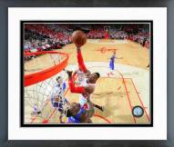 Houston Rockets Dwight Howard 2014-15 Playoff Action Framed Photo