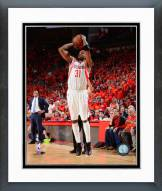 Houston Rockets Jason Terry 2015 Playoff Action Framed Photo