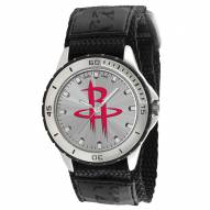 Houston Rockets Veteran Velcro Mens Watch