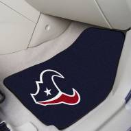 Houston Texans 2-Piece Carpet Car Mats