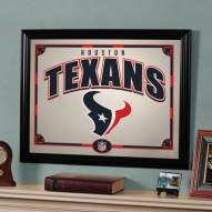 "Houston Texans 23"" x 18"" Mirror"