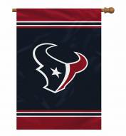 "Houston Texans 28"" x 40"" Banner"
