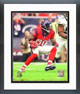 Houston Texans Andre Johnson 2014 Action Framed Photo