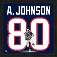 Houston Texans Andre Johnson Uniframe Framed Jersey Photo