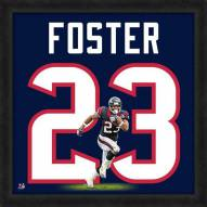 Houston Texans Arian Foster Uniframe Framed Jersey Photo