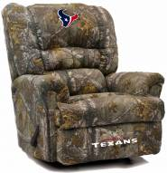 Houston Texans Big Daddy Camo Recliner