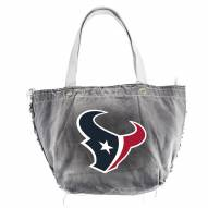 Houston Texans Black NFL Vintage Tote Bag