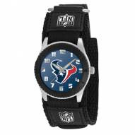 Houston Texans Black Rookie Kids Watch