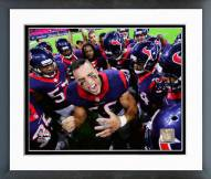 Houston Texans Brian Cushing 2014 Action Framed Photo