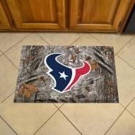 Houston Texans Camo Scraper Door Mat