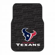 Houston Texans Car Floor Mats