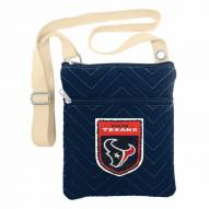 Houston Texans Crest Chevron Crossbody Bag