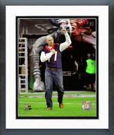 Houston Texans David Quessenberry 2014 Action Framed Photo