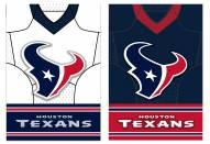 Houston Texans Double Sided Jersey Flag