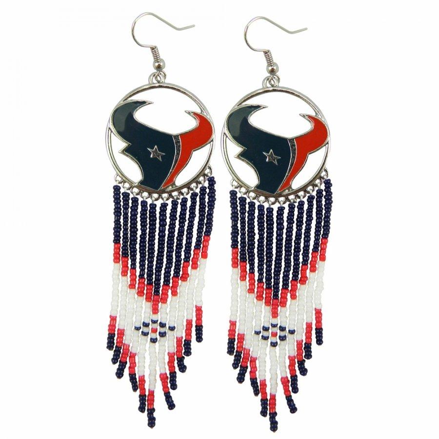 Houston Texans Dreamcatcher Earrings