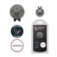 Houston Texans Hat Clip & Marker Set