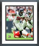 Houston Texans Jadeveon Clowney 2015 Action Framed Photo