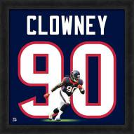 Houston Texans Jadeveon Clowney Uniframe Framed Jersey Photo