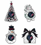 Houston Texans LED Christmas Tree Ornaments