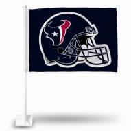 Houston Texans Blue Car Flag