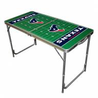 Houston Texans NFL Outdoor Folding Table
