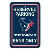 Houston Texans Parking Sign - Set of 2