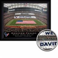 Houston Texans Personalized Framed Stadium Print