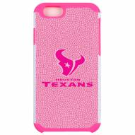 Houston Texans Pink Pebble Grain iPhone 6/6s Plus Case