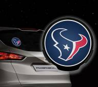 Houston Texans Light Up Power Decal