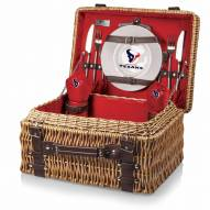 Houston Texans Red Champion Picnic Basket