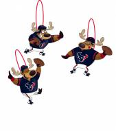 Houston Texans Reindeer Ornaments