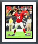 Houston Texans Ryan Fitzpatrick 2014 Action Framed Photo