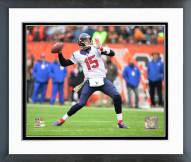 Houston Texans Ryan Mallett 2014 Action Framed Photo