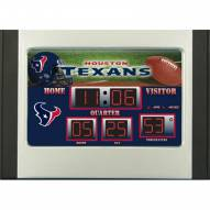 Houston Texans Scoreboard Desk Clock