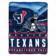 Houston Texans Silk Touch Stacked Blanket