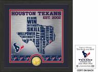 Houston Texans State Bronze Coin Photo Mint