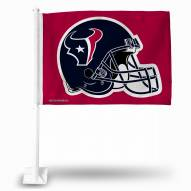 Houston Texans Red Car Flag