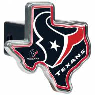 Houston Texans Texas Shaped Trailer Hitch Cover