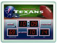 Houston Texans Thermometer Scoreboard Clock
