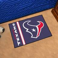 Houston Texans Uniform Inspired Starter Rug