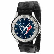 Houston Texans Veteran Velcro Mens Watch